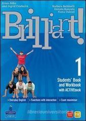 Brilliant! Ediz. pack. Student's book-Workbook-Culture book. Con espansione online. Per la Scuola media. Con DVD-ROM vol.1