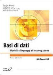 Basi di dati. Modelli e linguaggi di interrogazione