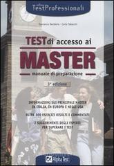 Test di accesso ai master. Manuale di preparazione