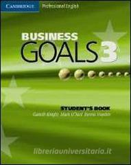 Business goals. Student's book. Con espansione online. Per le Scuole superiori vol.3