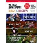 William Shakespeare. Kings & Rogues Box Set (Cofanetto 4 dvd)