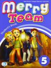 Merry team. Student's book-Activity book. Per la 5ª classe elementare. Con DVD-ROM