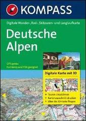 Carta digitale n. 4372. Germania. Deutsche Alpen. DVD-ROM digital map